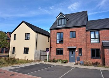 Thumbnail 4 bedroom end terrace house for sale in Haven Walk, Barry
