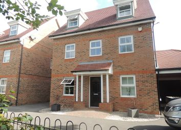 Thumbnail 5 bed detached house for sale in Mescott Meadows, Hedge End, Southampton