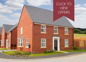 "Thumbnail 4 bed detached house for sale in ""Cornell"" at The Parade, Oadby, Leicester"