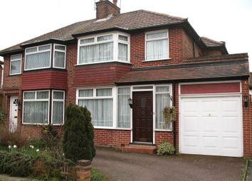 Thumbnail 3 bed semi-detached house for sale in Ladycroft Walk, Stanmore, Middlesex