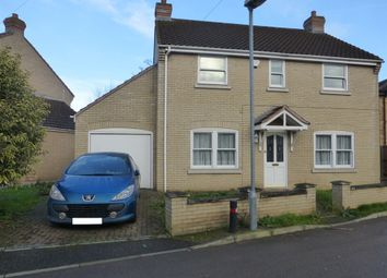 Thumbnail 4 bedroom detached house for sale in Coxs Lane, Chatteris