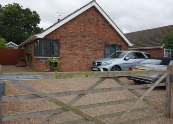 Thumbnail 4 bed detached bungalow for sale in Manor Road, Hopton, Great Yarmouth
