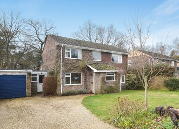 Thumbnail 4 bed detached house for sale in Penwood Heights, Penwood, Newbury