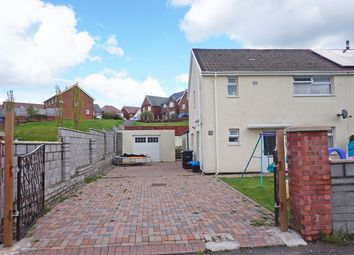 Thumbnail 4 bed semi-detached house for sale in Tydfil Close, Trelewis, Treharris