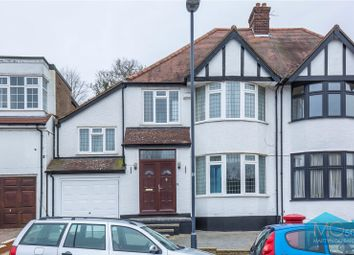 Thumbnail 4 bed semi-detached house for sale in Lake View, Edgware, Middlesex
