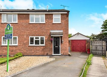 Thumbnail 3 bed semi-detached house for sale in Monteith Place, Castle Donington, Derby