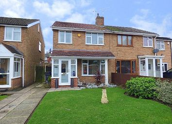 Thumbnail 3 bed semi-detached house for sale in Cheveley Avenue, Rubery