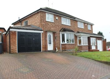 Thumbnail 3 bed semi-detached house for sale in Parkside Road, Handsworth Wood, Birmingham