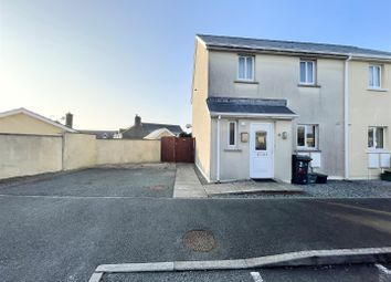 Thumbnail 3 bed semi-detached house for sale in Goughs Court, Milford Haven