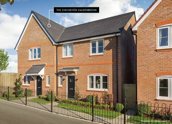 "Thumbnail 2 bed semi-detached house for sale in ""The Galdenbrook"" at Sheerwater Way, Chichester"