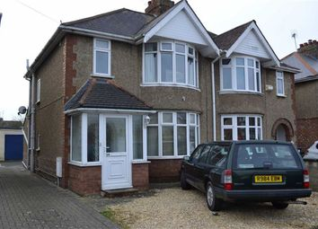 Thumbnail 3 bedroom semi-detached house to rent in Churchward Avenue, Swindon