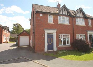 Thumbnail 3 bed semi-detached house for sale in Castle Walks, Chirk, Wrexham