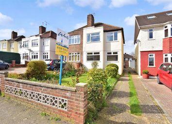 Thumbnail 3 bedroom semi-detached house for sale in Cheriton Road, Rainham, Gillingham, Kent