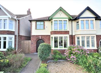 Thumbnail 3 bed semi-detached house for sale in Rossall Grange Lane, Fleetwood, Lancashire