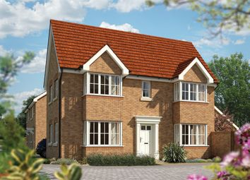 "Thumbnail 3 bed detached house for sale in ""The Sheringham"" at Priory Fields, Wookey Hole Road, Wells, Somerset, Wells"