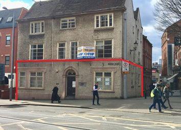 Thumbnail Retail premises to let in Unit 1, 6 Weekday Cross/Byard Lane, Weekday Cross, Nottingham