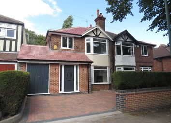 Thumbnail 3 bed semi-detached house for sale in Bedale Road, Nottingham
