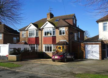 Thumbnail 5 bed semi-detached house for sale in Hampden Road, Hitchin