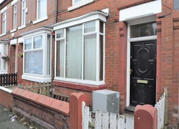 Thumbnail 2 bed terraced house for sale in Longford Street, Abbey Hey, Manchester