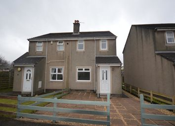 Thumbnail 2 bed semi-detached house to rent in Meadowfield Grove, Gosforth, Seascale