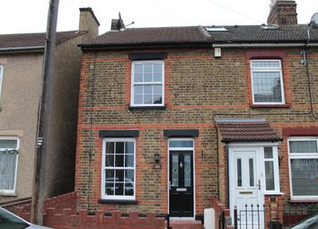 Thumbnail 2 bedroom end terrace house for sale in Melvill Road, Rainham