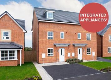 "Thumbnail 4 bed semi-detached house for sale in ""Woodcote"" at Newton Lane, Wigston"