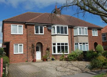Thumbnail 5 bed semi-detached house for sale in The Close, Romanby, Northallerton