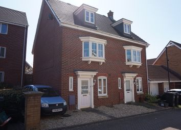 Thumbnail 4 bed town house for sale in Britton Gardens, Kingswood
