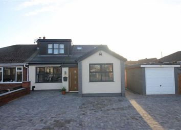 Thumbnail 4 bed semi-detached bungalow for sale in Caernarvon Road, Hindley Green, Wigan