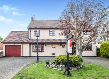 Thumbnail 4 bed detached house for sale in Crathorne, Yarm, Cleveland