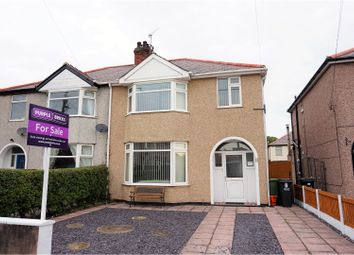 Thumbnail 4 bed semi-detached house for sale in Stanley Park Avenue, Rhyl