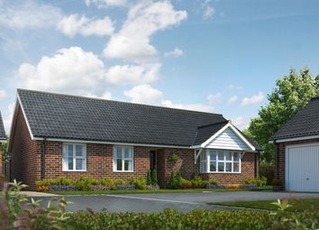 Thumbnail 3 bed detached bungalow for sale in The Signals, Norwich Road, Watton