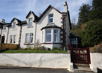 Thumbnail 4 bed semi-detached house for sale in Villa Road, Oban