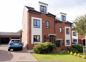 Thumbnail 3 bed semi-detached house for sale in Wells Grove, Newton Hall, Durham