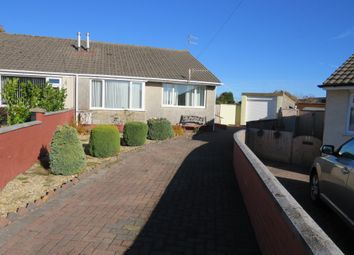 Thumbnail 3 bed semi-detached bungalow for sale in Hadrians Close, Gelligaer, Hengoed