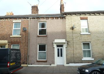 Thumbnail 1 bed terraced house to rent in Metcalfe Street, Carlisle, Cumbria