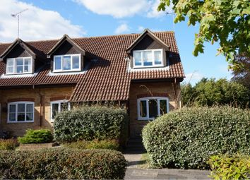 Thumbnail 2 bed end terrace house for sale in Monks Crescent, Addlestone