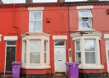 Thumbnail 2 bed terraced house for sale in Milverton Street, Kensington, Liverpool