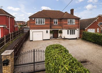 Thumbnail 5 bed detached house for sale in College Road, Hextable, Swanley, Kent