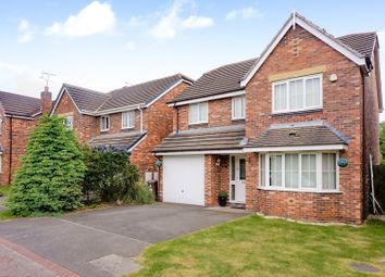 Thumbnail 4 bed detached house for sale in Hedingham Close, Liverpool
