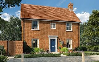 Thumbnail 4 bed detached house for sale in Butterfield Meadow, Hunstanston, Norfolk