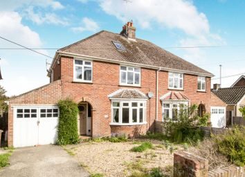 Thumbnail 3 bed semi-detached house for sale in Humberstone Road, Andover