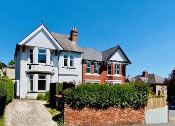3 bed semi-detached house for sale in Dewsland Park Road, Off Stow Hill, Newport. NP20