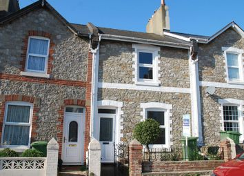 Thumbnail 3 bed terraced house for sale in Woodville Road, Torquay