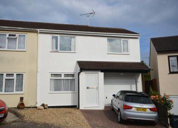 Thumbnail 3 bedroom semi-detached house for sale in Ladymead, Woolbrook, Sidmouth, Devon