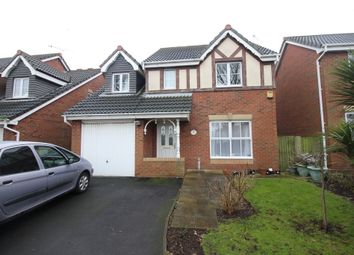 Thumbnail 4 bed detached house for sale in Rose Fold, Thornton-Cleveleys