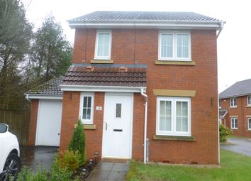 Thumbnail 3 bed detached house to rent in Anthony Hill Court, Pentrebach, Merthyr Tydfil