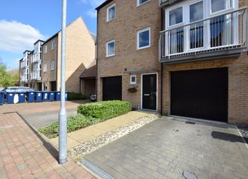 Thumbnail 4 bedroom town house to rent in Holly Blue Close, Little Paxton, St. Neots