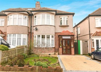 Thumbnail 3 bed semi-detached house for sale in Dorchester Avenue, Harrow, Middlesex