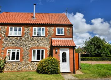 Thumbnail 2 bedroom end terrace house to rent in Windmill Hill, Great Bircham, King's Lynn